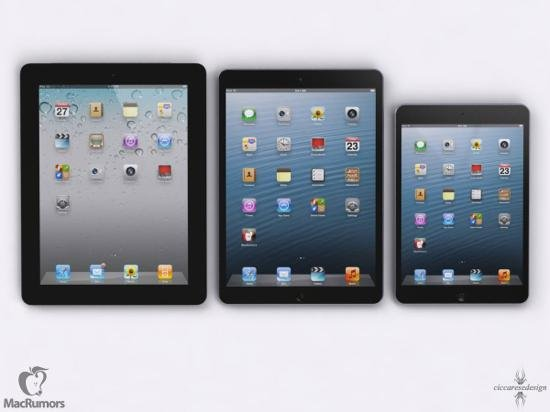 iPad 5 : 500 grammes et 15% plus fin ?