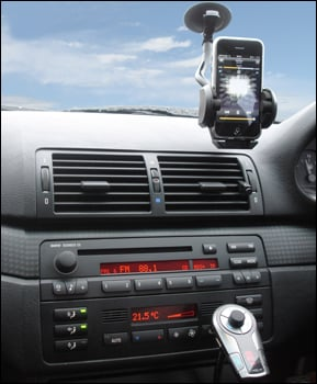 kit fm bluetooth voiture - Test : Kit Bluetooth Voiture & Transmetteur FM TrailBlazer