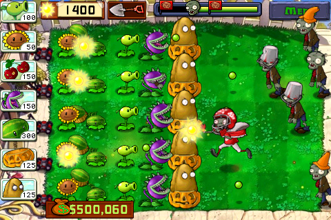 Plants vs Zombies 2 : sortie iPhone, iPad, iPod Touch et Mac cet été