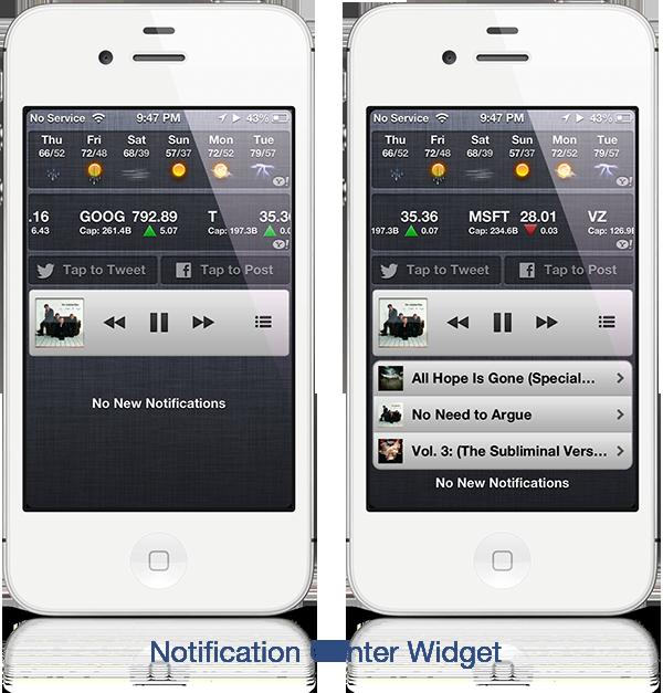 powermusic miniplayer widget - PowerMusic Miniplayer : widget et raccourcis pour sa musique