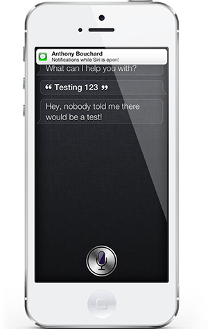 unveil - Unveil : Afficher les notifications lorsque Siri est ouvert