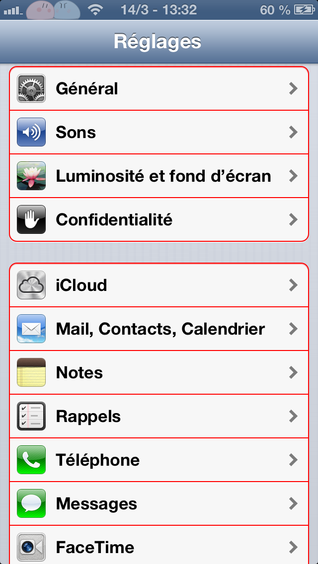 Bounds Color : modifier la couleur des bordures de menus