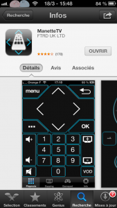 IMG 0486 169x300 - ManetteTV : Piloter la TV d'Orange depuis iPhone, iPad, iPod Touch
