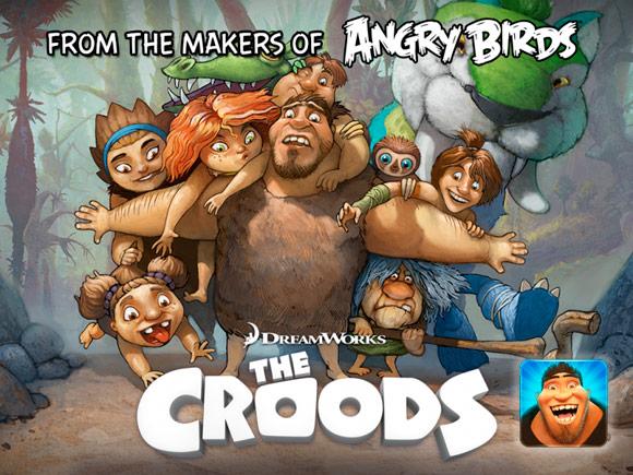 The Croods : le futur jeu des créateurs d'Angry Birds