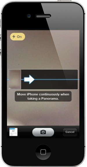 Flashorama : activer le flash pendant un panorama