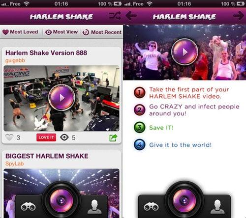 Harlem Shake App : le phénomène débarque sur iPhone