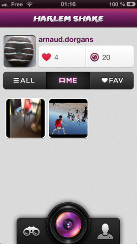 harlem shake iphone - Harlem Shake App : le phénomène débarque sur iPhone