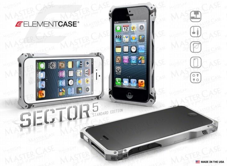 Bumper Sector 5 : la coque iPhone 5 ultime ?