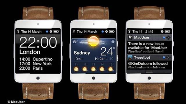 iwatch concept - iWatch : Nouveau concept par MacUser