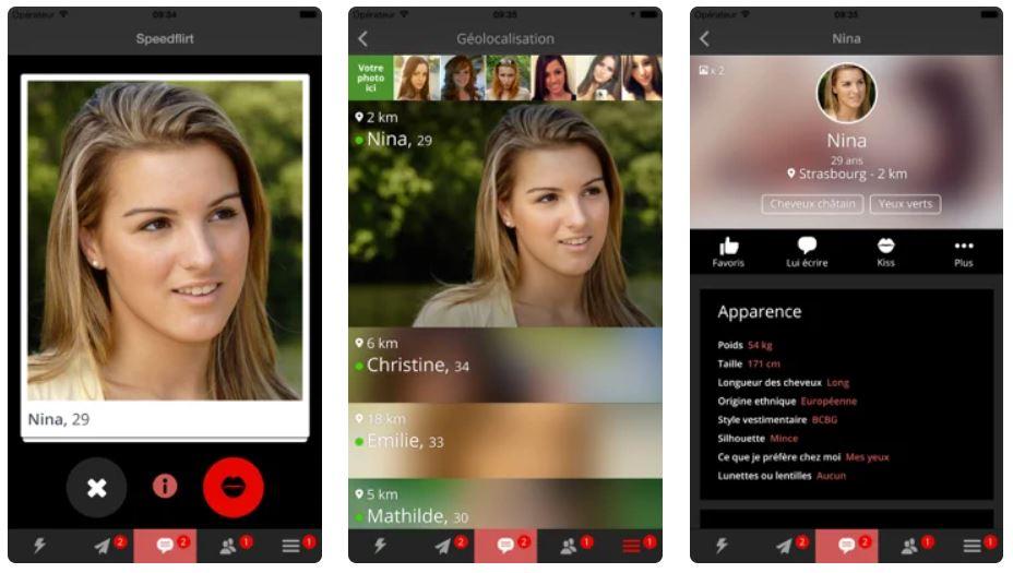 Meexy : l'application de rencontres coquines sur iPhone