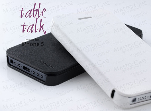 Table Talk : une coque iPhone 5 tout en finesse