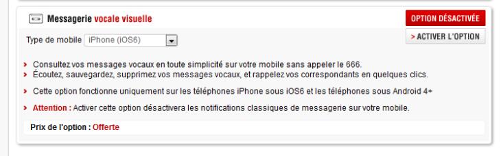 Free Mobile : Activer la messagerie vocale visuelle