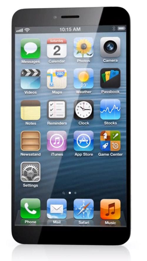 Concept : iPhone 6 sans bouton home