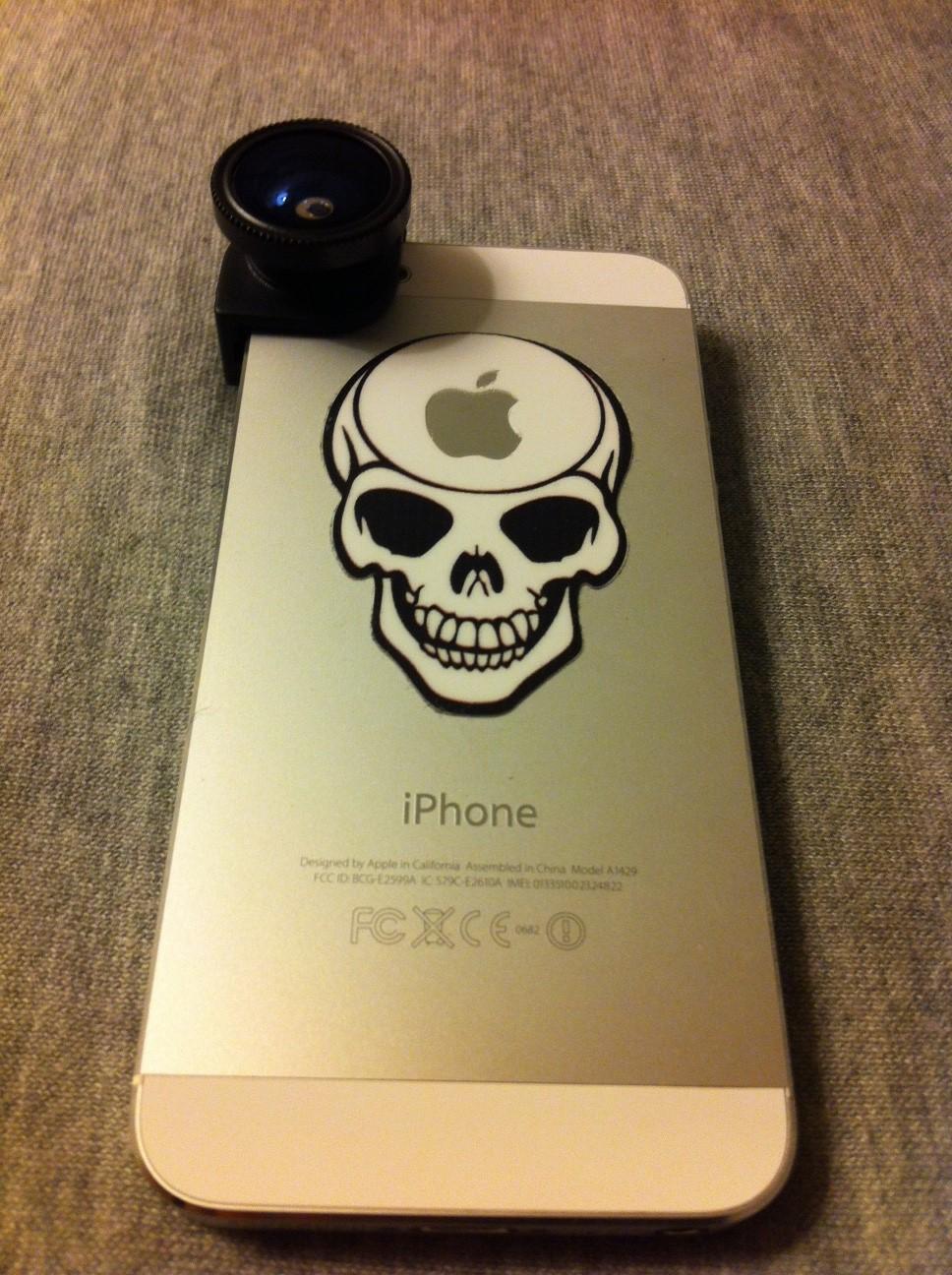 kit objectif iphone 5 arriere - Test : Kit objectif photo 3 en 1 pour iPhone 5