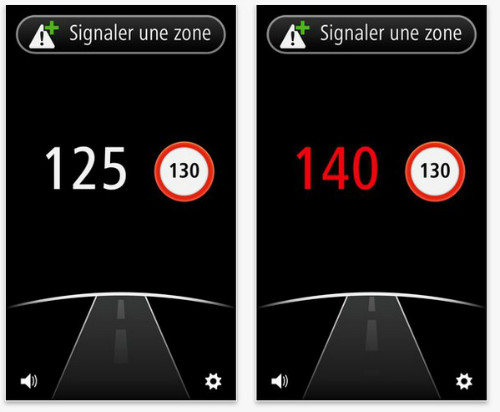 TomTom Zones de Danger : nouvelle application du GPS