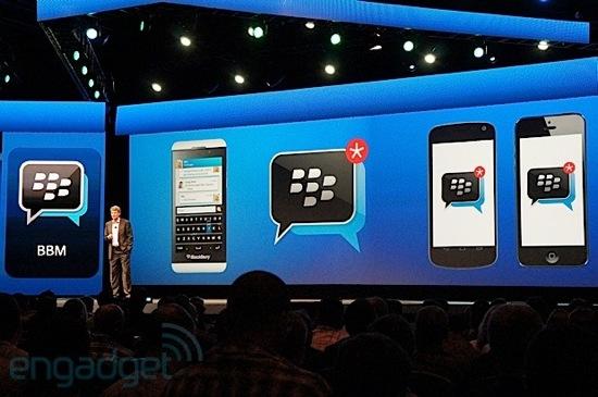 BlackBerry Messenger : disponible sur iOS et Android cet été