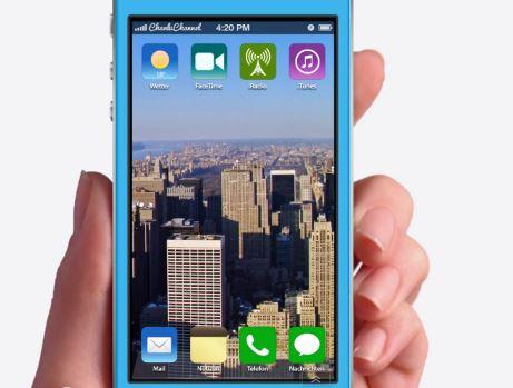 iOS 7 : concept avec réponse rapide, nouveau Siri, …
