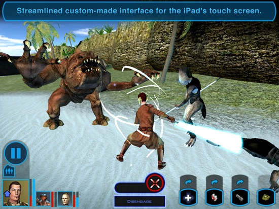 Star Wars – Knights of the Old Republic disponible sur iPad