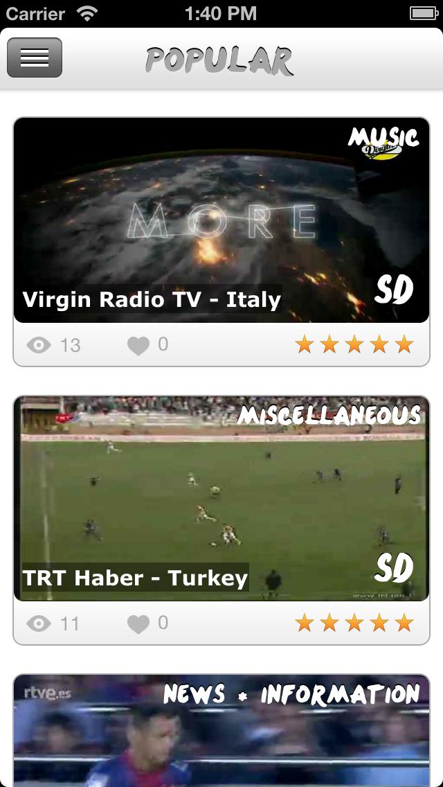 Universal TV : regarder la télévision gratuitement sur son iPhone & iPad