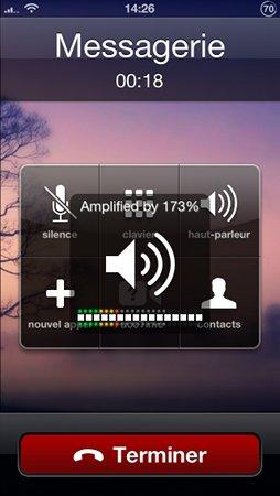 Volume Amplifier : augmenter le volume des appels sur l'iPhone 5