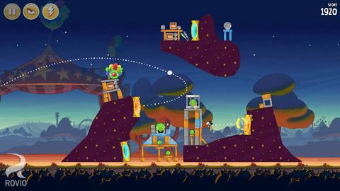 Angry Birds Seasons 3.3 : 36 nouveaux niveaux magiques