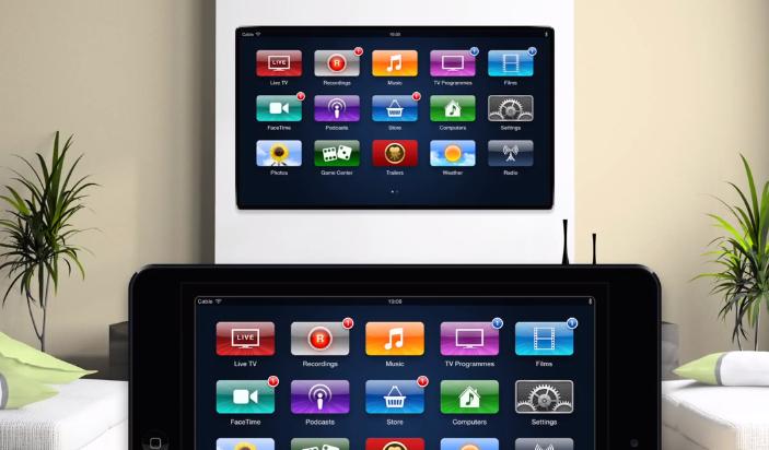 Apple iTV : Concept avec un OS contrôlé par l'iPad