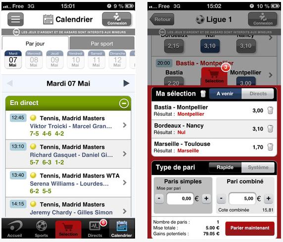 Betclic : les paris sportifs sur iPhone, iPad, iPod Touch
