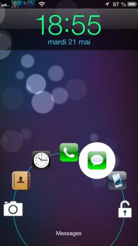 JellyLock : déverrouiller son iPhone comme sur Android