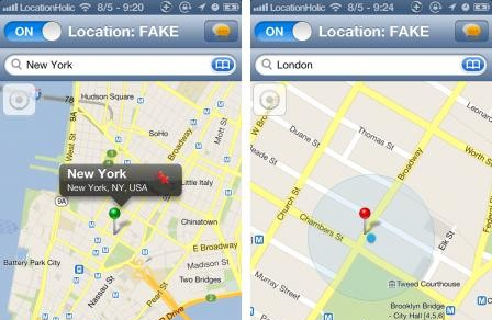 LocationHolic (Google Maps) : fausser sa localisation iPhone