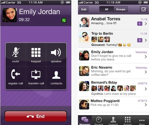 Viber 3.0 : mise à jour et sortie sur Mac et PC