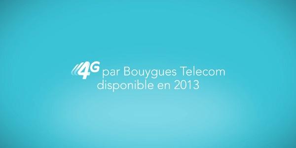 Bouygues Telecom : lancement national de la 4G le 1er octobre 2013