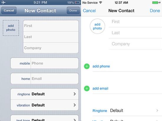 iOS-7-vs-iOS-6-Contacts