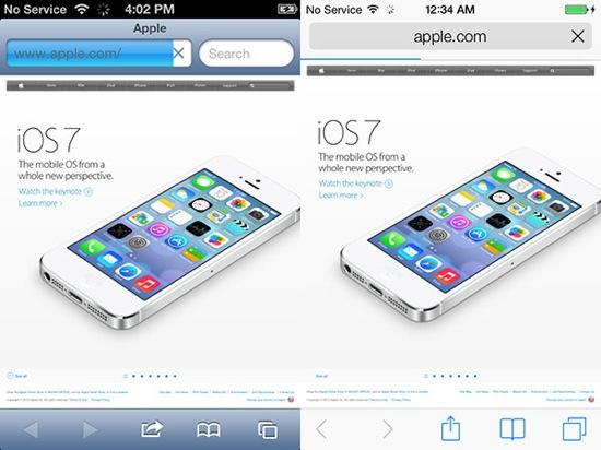 iOS-7-vs-iOS-6-Safari