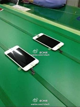 iPhone 5S : photos de la dalle et de la batterie sur la chaîne de montage ?