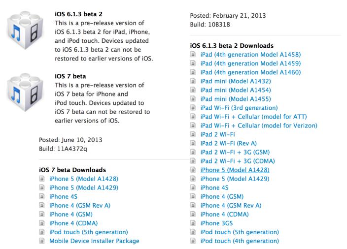 Tutoriel : Télécharger et installer iOS 7 bêta 1