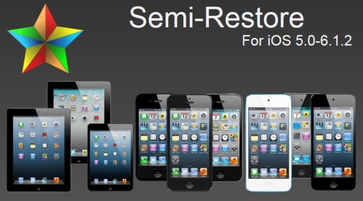 Semi-Restore : nettoyer son iPhone, iPad, iPod Touch jailbreaké