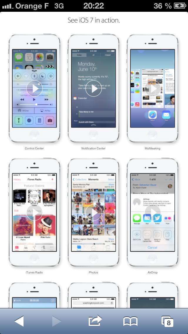 Tester iOS 7 sur iPhone, iPad et iPod Touch sans installation
