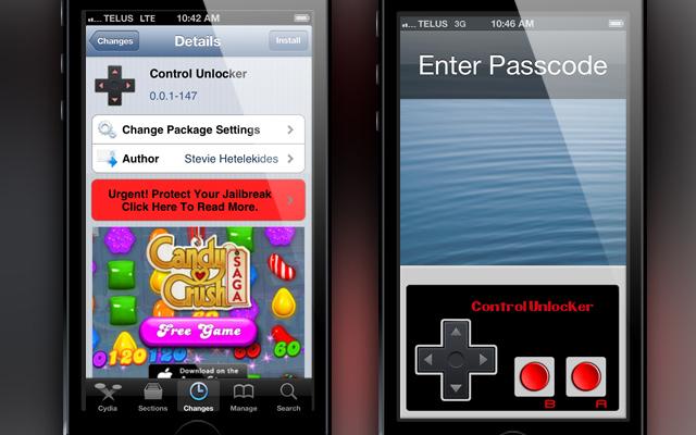 Control Unlocker : Déverrouiller son iPhone avec une manette Nintendo
