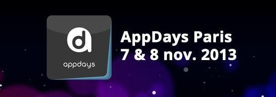 AppDays 2013 : l'événement incontournable des créateurs d'apps mobiles