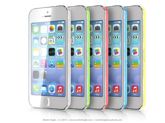 iPhone low cost : nouveau concept en couleurs
