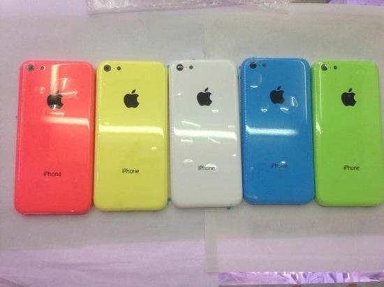 iPhone low cost rouge, jaune, bleu et vert : nouvelles photos