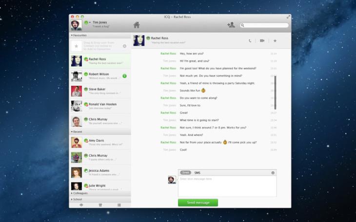 Mac App Store : ICQ est disponible