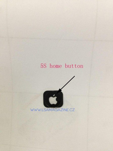 iPhone 5S : un bouton home avec le logo Apple ?