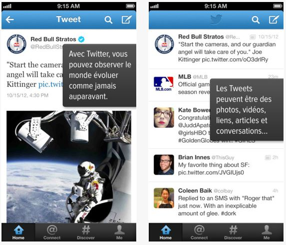 Twitter iOS et Mac : nouvelles mises à jour