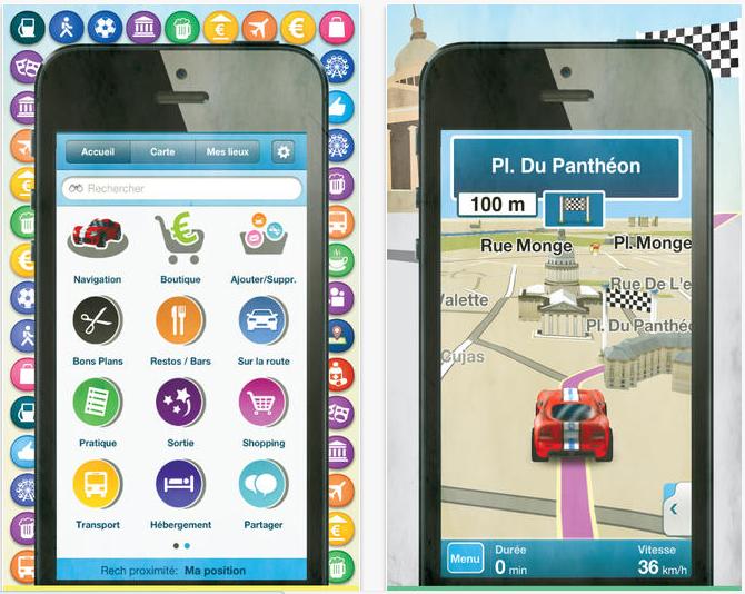 M8 : GPS gratuit et bons plans sur iPhone