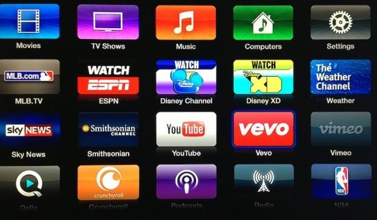 Apple TV : arrivée de Vevo et de 4 autres chaînes