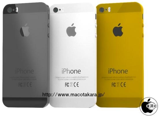 iphone 5s iphone 5c noms confirm s mod le couleur or. Black Bedroom Furniture Sets. Home Design Ideas