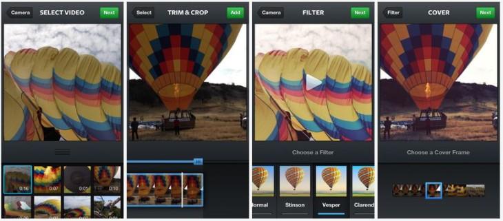 Instagram 4.1 : ajout de l'import des vidéos de la pellicule
