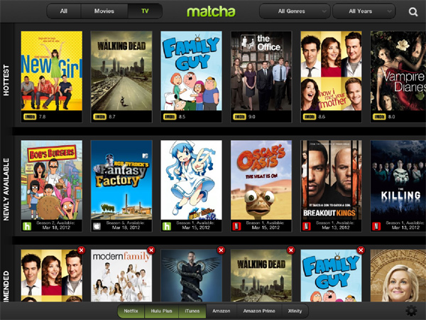 Apple : rachat de Matcha.tv, l'iTV pour bientôt ?