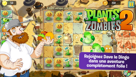 Plants vs Zombies 2 : 25 millions de téléchargements